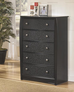Enchanted Glade Vine Covered Five Drawer Chest