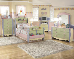 Doll House Bedroom Mirror