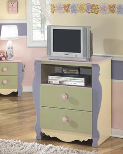 Doll House Media Chest